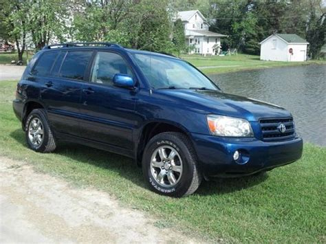 auto air conditioning service 2005 toyota highlander parental controls sell used 2005 toyota highlander base sport utility 4 door 3 3l 4x4 loaded 3rd row seat in
