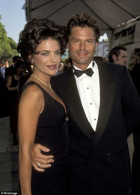 harry hamlin brothers dead lisa rinna shows off 20 year anniversary bling from hubby