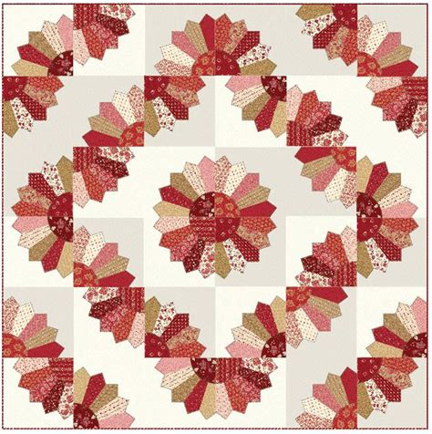 Dresden Fan Quilt by Dresden Fan Quilts Pattern Nzp Q002 Advanced Beginner