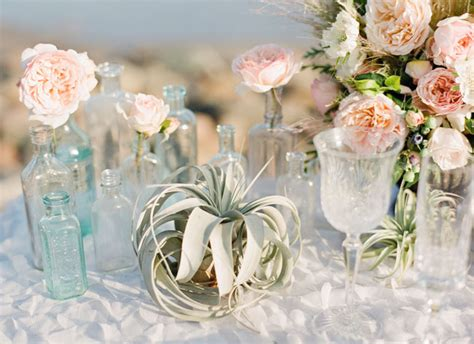 wedding color palette idea mint green and peach wedding