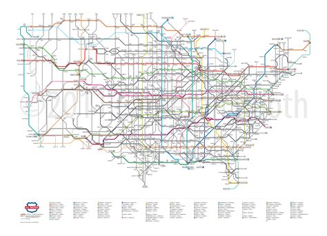 interstate highway map here s what america s highways would look like as a subway map business insider