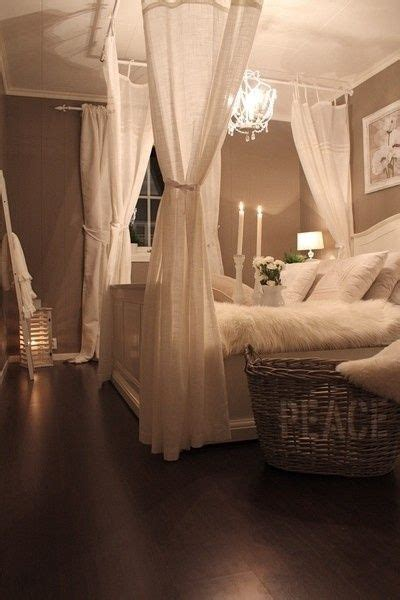 how to drape curtains over rods 25 best ideas about curtain over bed on pinterest