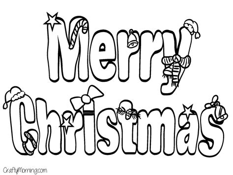 printable christmas coloring pages  kids merry christmas coloring pages printable