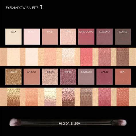 Focallure Tropical Vacation Eyeshadow Palette new launch or palettes focallure india
