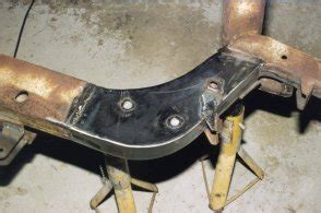Literal Wheels Frame right side showing completed repairs