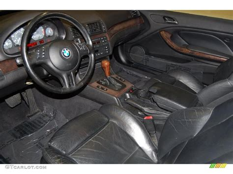 2001 Bmw 3 Series Interior by Black Interior 2001 Bmw 3 Series 325i Coupe Photo