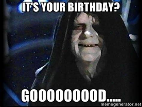 Star Wars Happy Birthday Meme - star wars birthday google search another year of