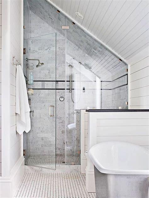 best 25 sloped ceiling bathroom ideas on