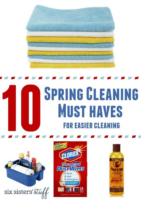 Kitchen Cleaning Must Haves 10 Cleaning Must Haves For Easier Cleaning Six
