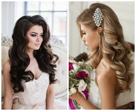 Hairstyles For With Curls by 5 Bridal Hairstyles For Your Wedding Day Azazie