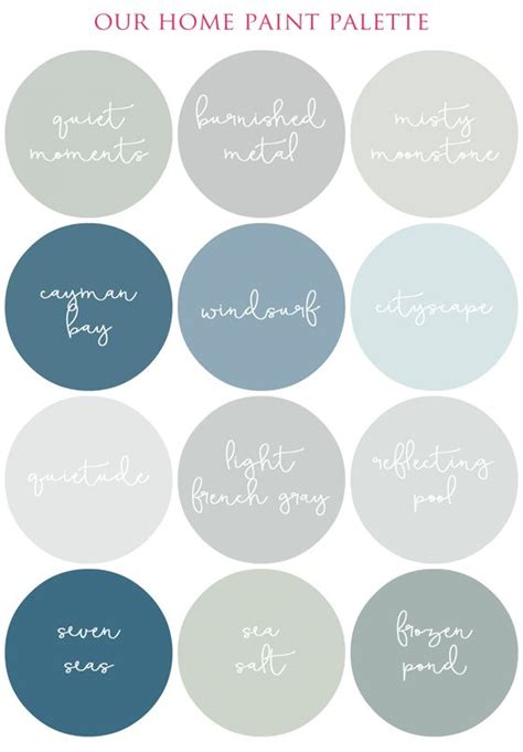 creating a smooth flowing color palette in your home i organizing the most of