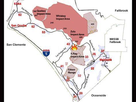 c pendleton housing map brush fire rages on c pendleton oceanside ca patch