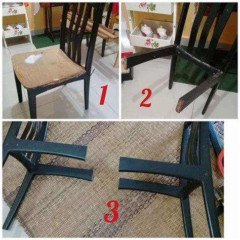 Meja Makan Marble 8 Kerusi kerusi makan rosak berubah jadi sofa kayu wow idea