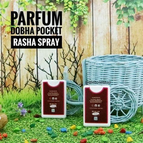 Minyak Wangi Mekah Al Rehab parfum minyak wangi dobha pocket spray rasha 18 ml parfum
