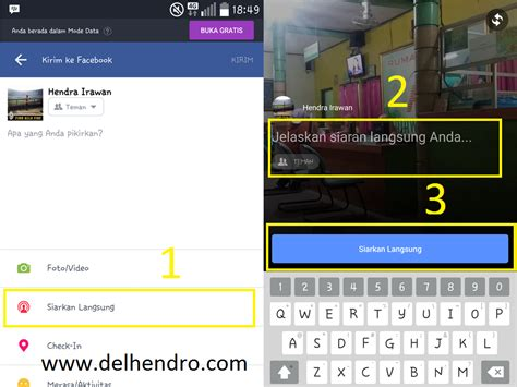 membuat video streaming online cara membuat live streaming video di facebook khoerul web