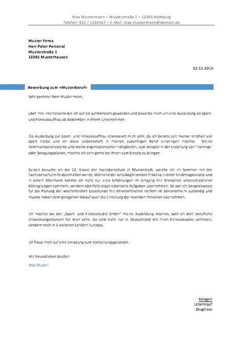 Bewerbungsschreiben Ungelernte Verk Uferin bewerbungsvorlagen und muster 2018 meinebewerbung net