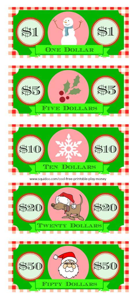 printable christmas plays youth free printable play money kids will love fake monopoly