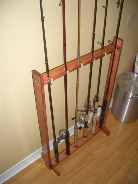 Fishing Pole Rack by Topic Woodworking Plans For Fishing Pole Rack Ambla