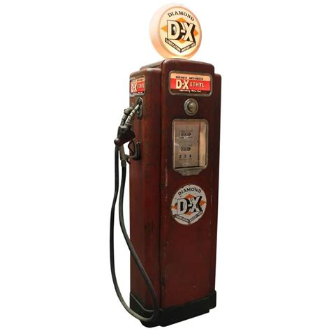 american gas l 1950s american gas pump by wayne for sale at 1stdibs