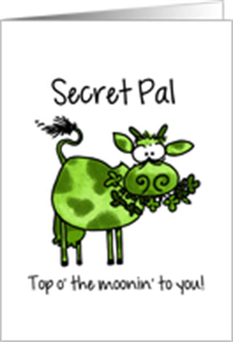 secret pal messages st s day cards for secret pal from greeting card