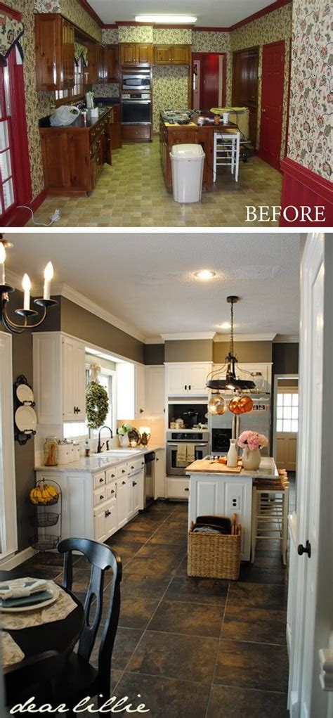 25 best ideas about budget kitchen makeovers on pinterest 25 before and after budget friendly kitchen makeover