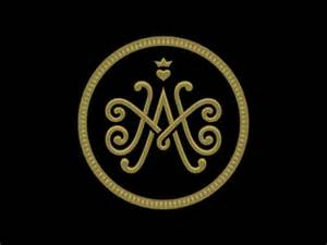 how to m m a monogram by alan oronoz dribbble