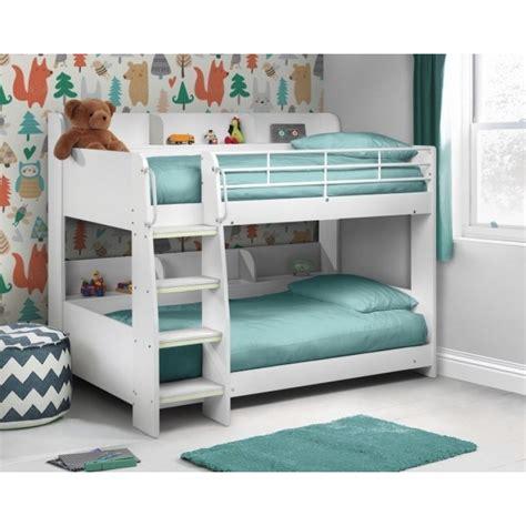 white bunk bed julian bowen domino white bunk bed