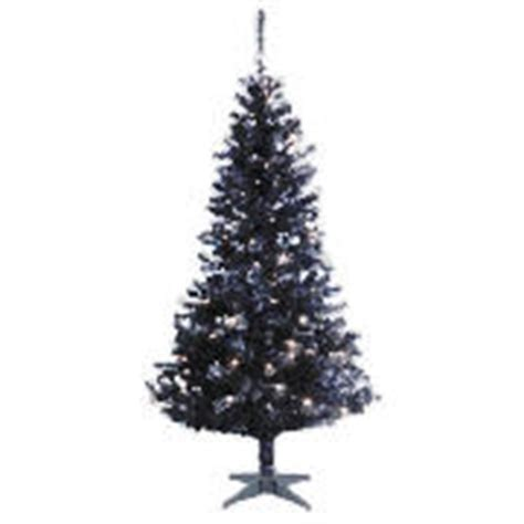 christmas trees tesco 6ft black pre lit christmas tree with