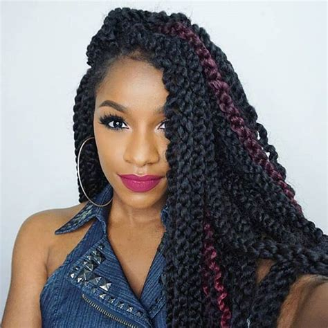 medium size packaged pre twisted hair for crochet braids 31 stunning crochet twist hairstyles stayglam