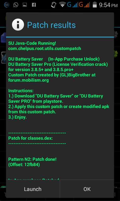 mod any android game no root launch the application