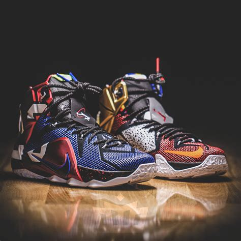 lebron 12 sneakers nike lebron 12 what the sneaker bar detroit