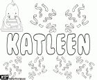 coloring pages of the name kate khadija arabic name coloring page printable game