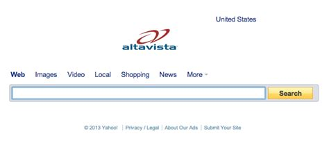 Alta Vista Search Hasta La Alta Vista Baby Battelle S Search