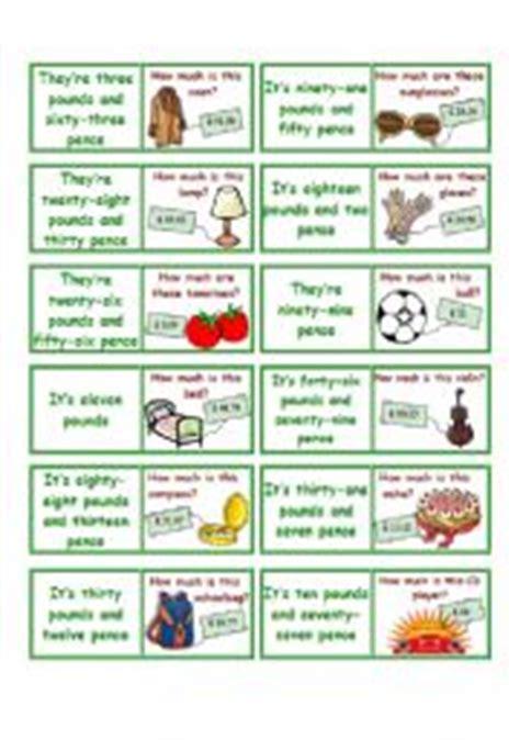domino for kids children educational game printable english teaching worksheets domino