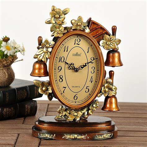clock home decor lai sheng mute clock retro home decor ideas living room european style classical ornaments