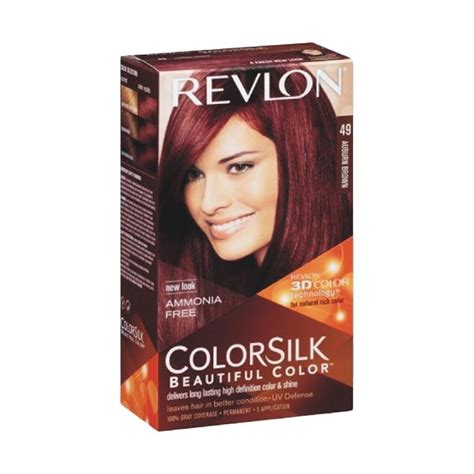Revlon Cat Rambut jual revlon colorsilk beautiful 49 cat rambut auburn