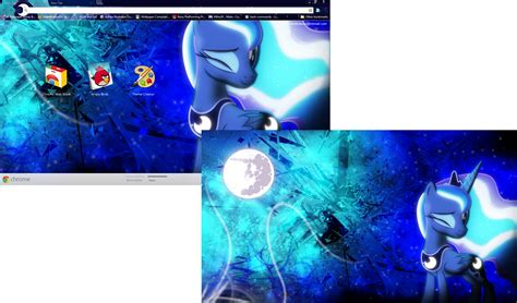 themes for background in google chrome fim luna google chrome theme plus wallpaper by