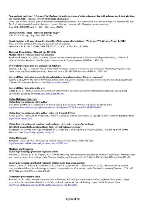 published dissertation apa 6th ed ready reckoner by v k kanvaria