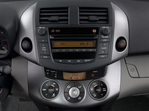 2007 Toyota RAV4 Instrument Panel Interior Photo