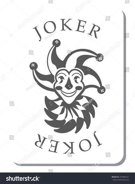 joker card template cards with the joker from a deck of cards