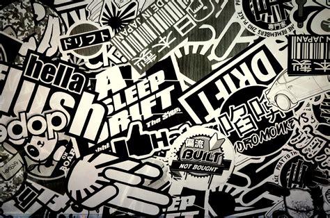 wallpaper wall stickers sticker bomb hd wallpaper and hintergrund 2448x1624