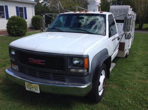 how things work cars 2000 gmc sierra 3500 electronic throttle control purchase used 2000 gmc 3500 hd bucket truck utility body 34 versalift boom onan gen 454 chevy
