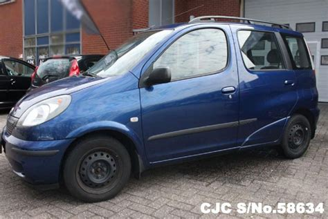 toyota verso 2000 2000 left toyota yaris verso blue for sale stock no