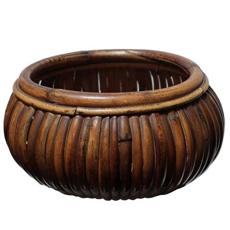 bark bowl gabriella crespi at 1stdibs large bamboo bowl by gabriella crespi at 1stdibs
