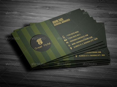 Hotel Business Card Template Free by Hotel Business Card Template By Owpictures Graphicriver