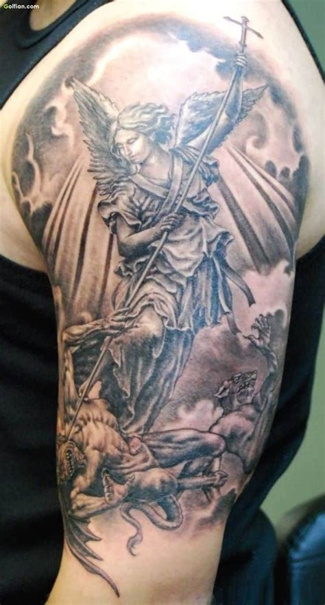 warrior angel tattoos 40 most amazing warrior tattoos best 3d