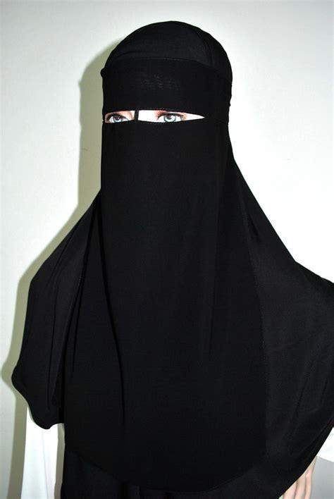 Niqob Bandana Poni Ori Saudi harga niqab cadar bandana poni biru dongker di kota