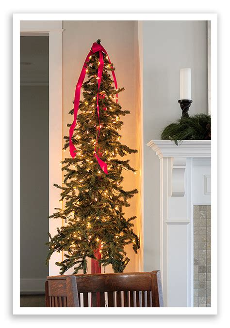 a christmas card display tree