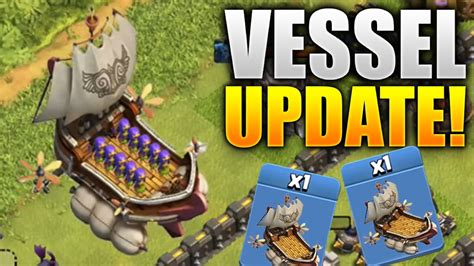 clash of clans boat gameplay clash of clans new troop idea quot the vessel quot coc update