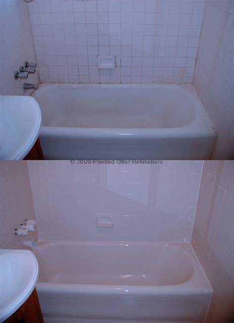 bathtub coating repair almond bathtub refinish 171 bathroom design